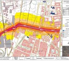 Mapas estratégicos de ruido de la red de carreteras de la Diputación de Valencia. Segunda Fase