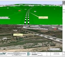 Plataforma del Nuevo Acceso Ferroviario de Alta Velocidad