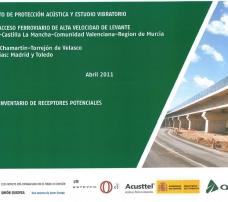 Estudio de protección acústica del Nuevo Acceso Ferroviario de Levante